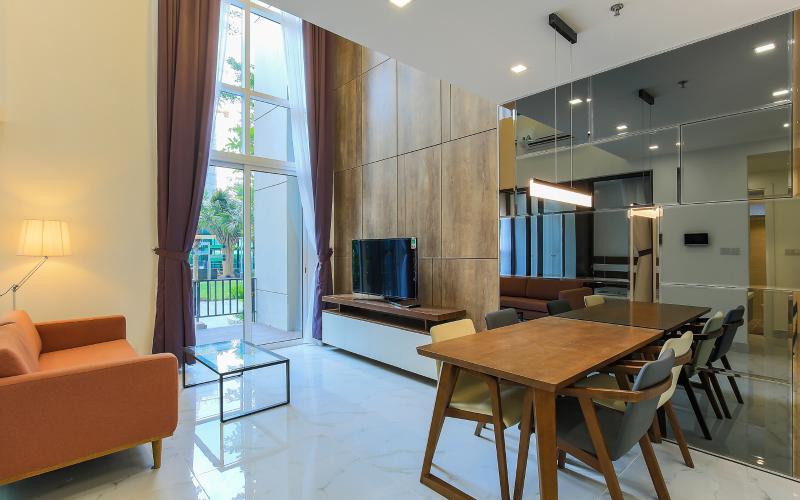 Lofthouse Vista Verde 3 phòng ngủ tầng thấp T1 nội thất đầy đủ