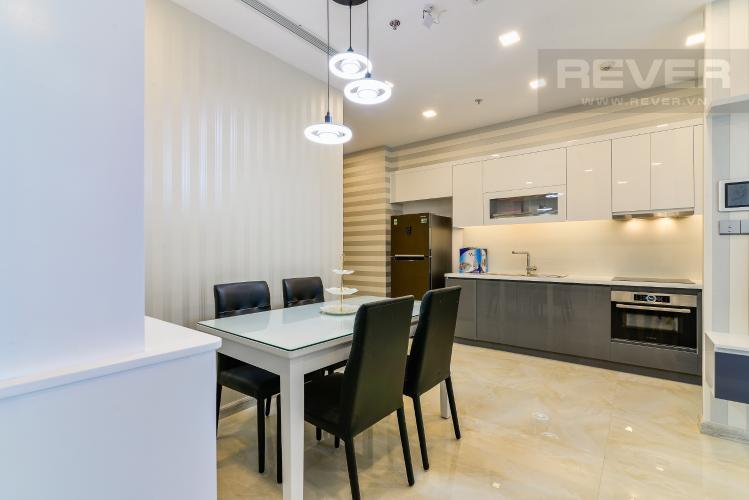 Phòng Ăn & Bếp Căn hộ Vinhomes Golden River tầng cao, 2PN, bàn giao đầy đủ nội thất
