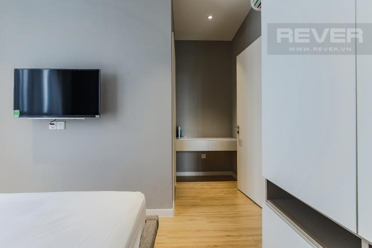 Phòng ngủ 1 Căn hộ Masteri Millennium tầng cao view sông, 2PN đầy đủ nội thất
