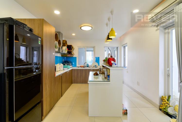 Bếp - Tầng 2 Bán nhà phố 3 tầng, đường Cao Đức Lân, An Phú, Quận 2, đầy đủ nội thất, sổ hồng chính chủ
