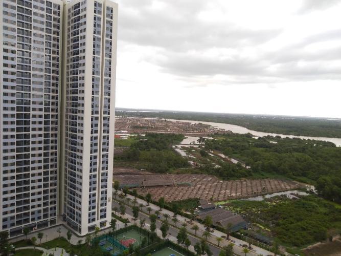 View căn hộ Vinhomes Grand Park Căn hộ Vinhomes Grand Park tầng 24, nội thất cơ bản, view thành phố.