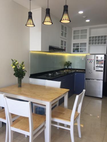 Phòng ăn và bếp căn hộ RiverGate Residence Cho thuê căn hộ RiverGate Residence 1PN, tháp A, đầy đủ nội thất, view thoáng