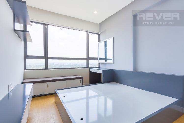 Phòng ngủ chính Căn hộ Masteri Thảo Điền tầng cao T4B 3 phòng ngủ, nội thất tinh tế