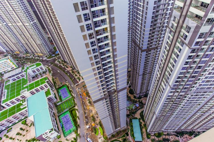 View Căn hộ Vinhomes Central Park tầng cao Central 2 thiết kế hiện đại, trẻ trung
