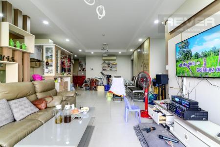 Cho thuê căn hộ The Gold View tầng cao, 3PN 2WC, đầy đủ nội thất