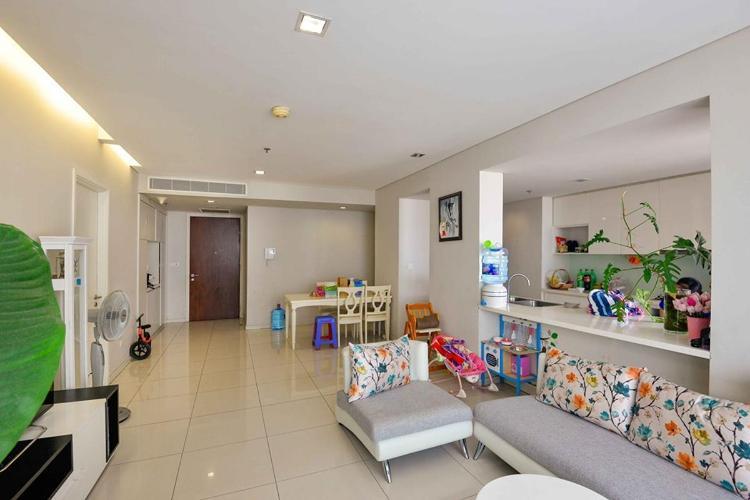 Cho thuê căn hộ City Garden 3PN, tháp Avenue, đầy đủ nội thất, view thành phố