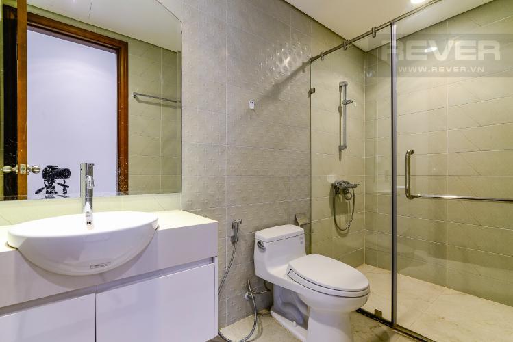 Phòng Tắm 1 Căn hộ Vinhomes Central Park tầng trung, 2PN, nội thất đầy đủ