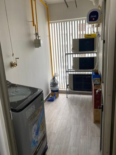 Sân phơi căn hộ Phú Mỹ Hưng Midtown Căn hộ 2 phòng ngủ Phú Mỹ Hưng Midtown tầng thấp, nội thất đầy đủ