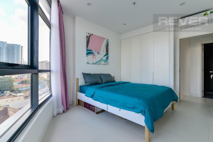 Phòng Ngủ 2 Cho thuê căn hộ City Garden 2PN 2WC, đầy đủ nội thất, view sông
