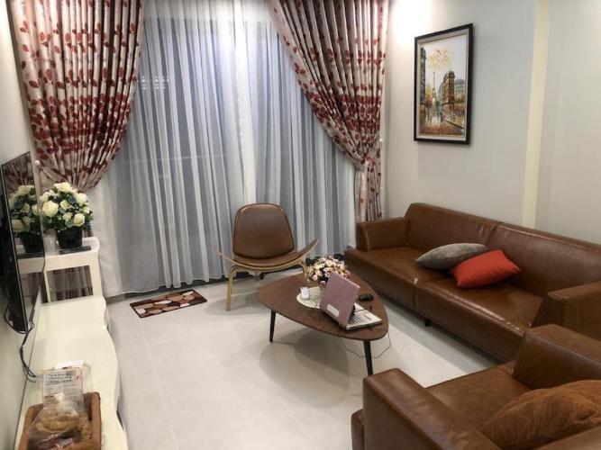 Cho thuê căn hộ The Gold View 2PN, diện tích 92m2, đầy đủ nội thất, view kênh Bến Nghé và Quận 1