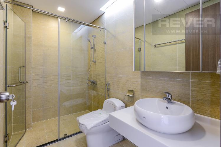 Phòng tắm 2 Officetel Vinhomes Central Park 2 phòng ngủ tầng trung P7 nhà trống