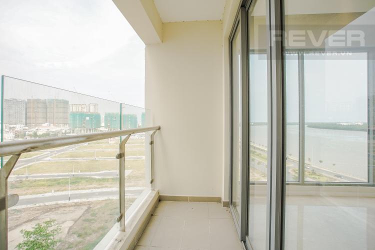 Ban Công Bán căn hộ Đảo Kim Cương tầng trung tháp Maldives, 3PN 2WC, view sông Sài Gòn mát mẻ
