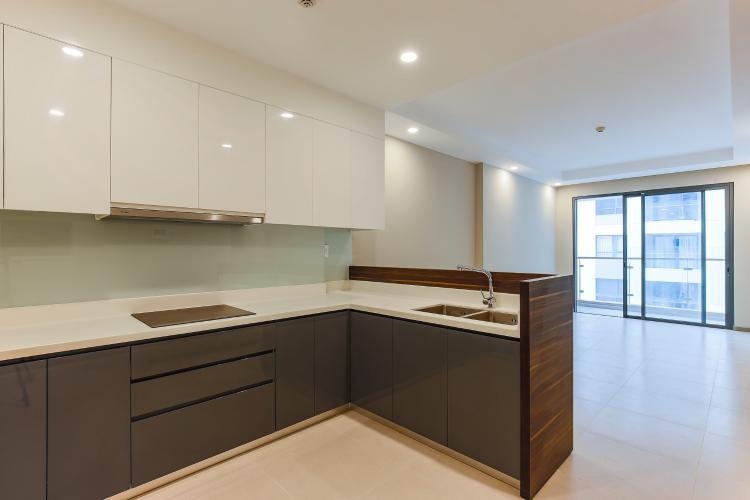 Căn hộ The Gold View 2 phòng ngủ tầng cao A2 nhà trống