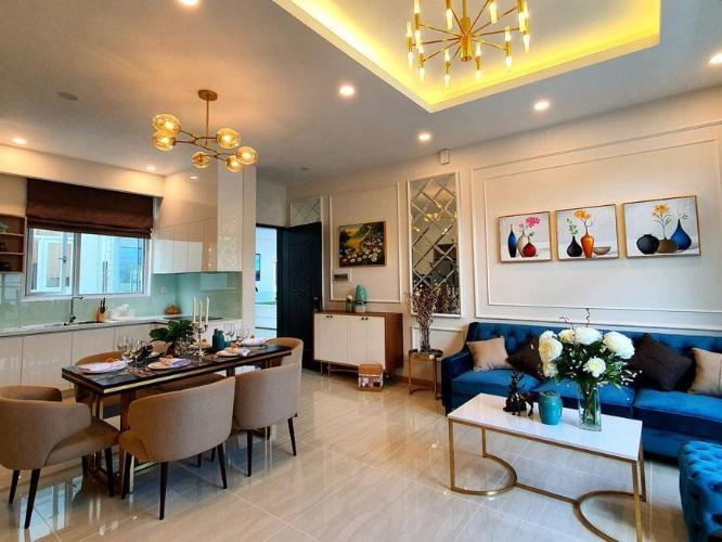 Nhà mẫu Paris Hoàng Kim, Quận 2 Căn hộ Paris Hoàng Kim view thành phố, nội thất cơ bản.