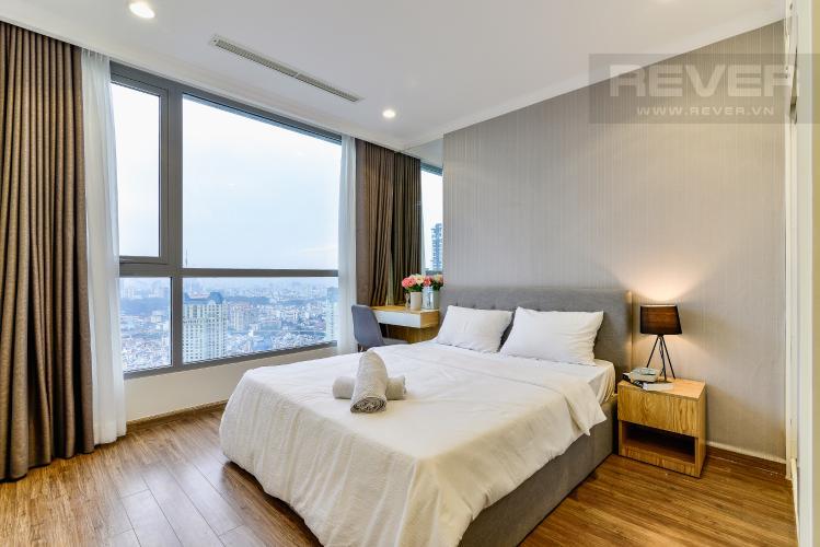 Phòng Ngủ 1 Căn hộ Vinhomes Central Park tầng cao, tháp Landmark 3, 3 phòng ngủ, full nội thất
