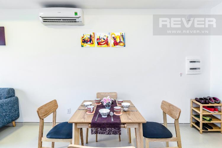 Bàn Ăn Cho thuê căn hộ M-One Nam Sài Gòn tầng trung, 2PN, đầy đủ nội thất