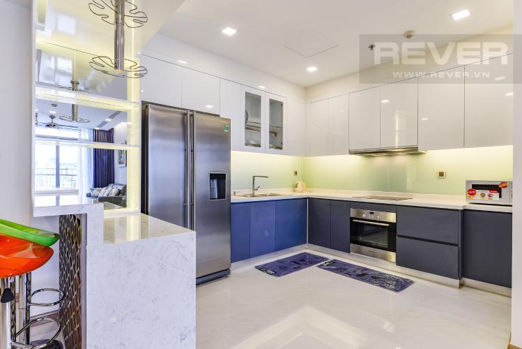 Bếp Căn hộ Vinhomes Central Park 2 phòng ngủ tầng cao P7 đầy đủ tiện nghi