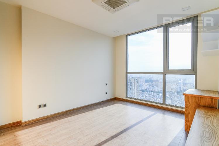 Phòng Ngủ 1 Officetel Vinhomes Central Park 2 phòng ngủ tầng cao P7 đầy đủ tiện nghi