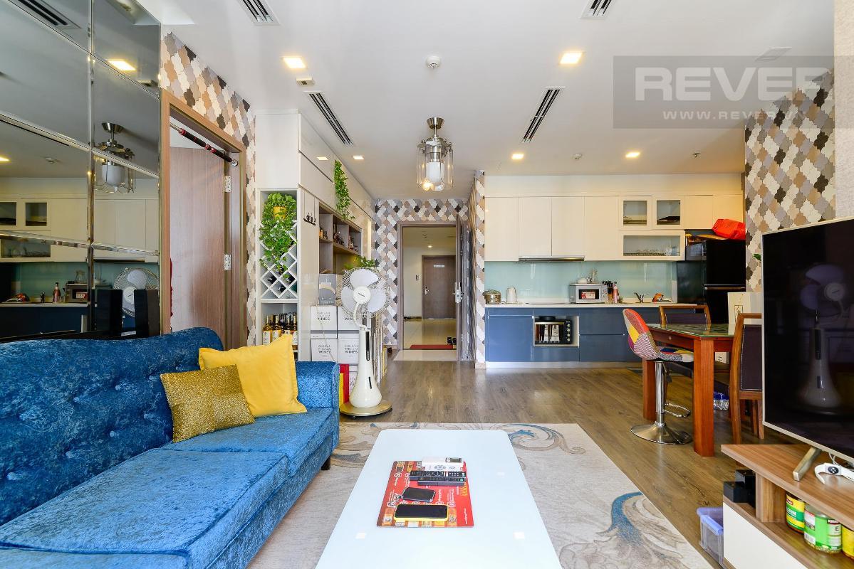 25 Cho thuê căn hộ Vinhomes Central Park 2PN, tháp Park 1, đầy đủ nội thất, view sông thoáng mát