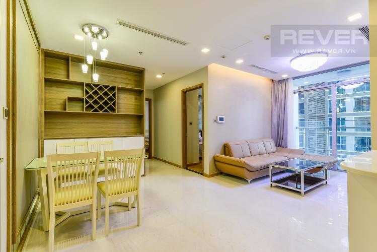 Tổng Quan Căn hộ Vinhomes Central Park 2 phòng ngủ tầng trung P3 nội thất đầy đủ