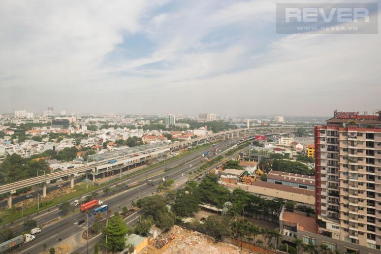 view căn hộ SAIGON GATEWAY Cho thuê căn hộ Saigon Gateway 2PN, diện tích 65m2, không có nội thất, view Xa lộ Hà Nội