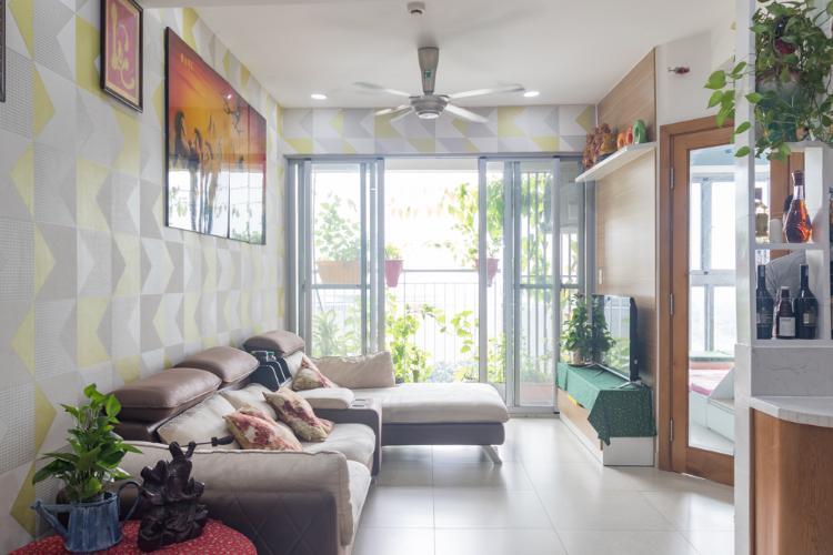 Bán hoặc cho thuê căn hộ Scenic Valley 2PN, block H, đầy đủ nội thất, view Cầu Ánh Sao - Crescent Mall
