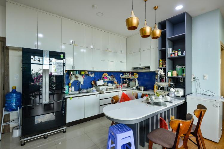 Phòng bếp penthouse Chung cư Bộ Công An Cho thuê penthouse Chung cư Bộ Công An 3PN, diện tích nhà 160m2, diện tích sân vườn 200m2, đầy đủ nội thất