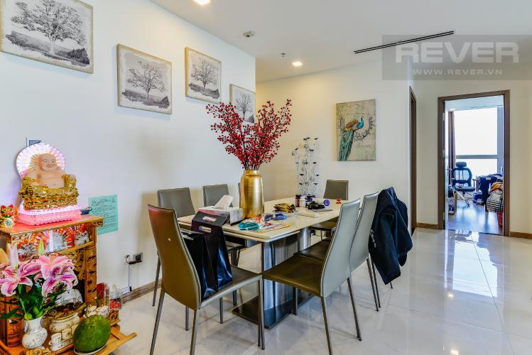 Phòng Ăn Căn hộ Vinhomes Central Park 4 phòng ngủ tầng cao P1 view sông
