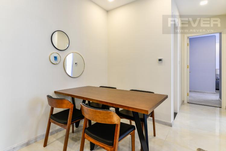 Phòng Ăn Căn hộ Vinhomes Golden River tầng cao, 2PN, đầy đủ nội thất, view sông thoáng đãng