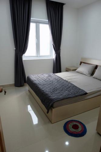 phòng ngủ nhà phố park riverside Nhà phố Park Riverside Tân Cảng đầy đủ nội thất, hiện đại.