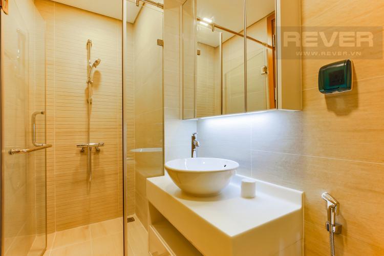 Phòng Tắm 2 Căn hộ Vinhomes Central Park tầng cao Park 6 mới bàn giao, chưa ở