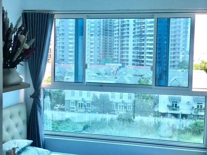 Căn hộ Sunrise Riverside Căn hộ Sunrise Riverside tầng thấp, view nội khu hồ bơi thoáng mát.