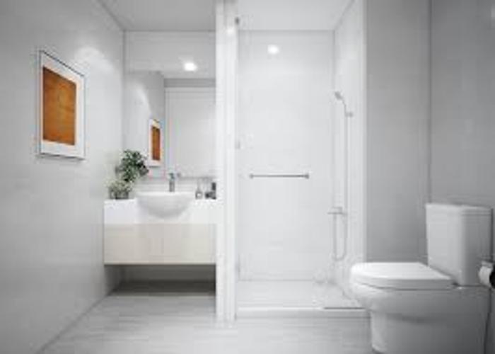 Toilet  căn hộ Ricca Bán căn hộ Ricca thuộc tầng trung, diện tích 68m2, 2 phòng ngủ, hướng ban công Tây Nam,