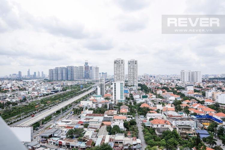 View Căn hộ Masteri Thảo Điền tầng cao T1 sở hữu 2 view đẹp về Quận 1 và sông Sài Gòn