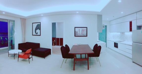 Cho thuê căn hộ Diamond Island - Đảo Kim Cương 2PN, tháp Bora Bora, đầy đủ nội thất, view sông thông thoáng