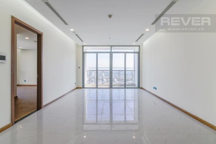 Phòng Khách Căn hộ Vinhomes Central Park 4 phòng ngủ tầng cao P4 view sông