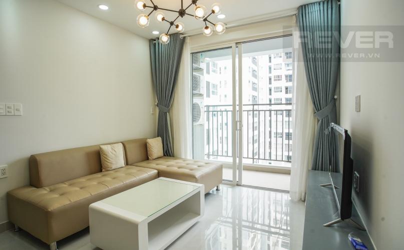 Phòng Khách Bán hoặc cho thuê căn hộ Sunrise Riverside 2PN, đầy đủ nội thất, view hồ bơi