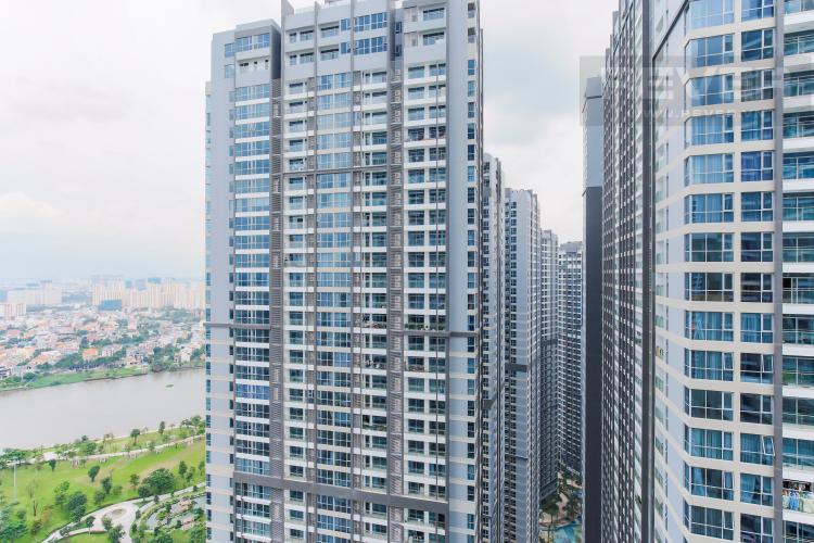 View Căn hộ Vinhomes Central Park tầng cao Landmark 1 nội thất mới, tiện nghi đầy đủ