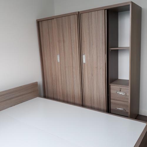 Phòng ngủ Lux Garden Quận 7 Căn hộ Lux Garden tầng thấp, 2 phòng ngủ, đầy đủ nội thất.