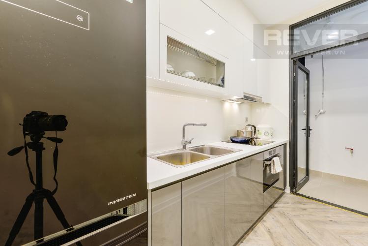 Bếp Căn hộ Vinhomes Golden River tầng thấp, tháp Aqua 4, 2 phòng ngủ, view hồ bơi.