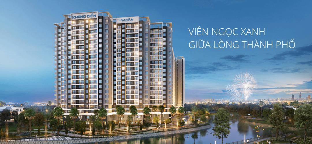 Bán căn hộ Safira Khang Điền 2PN, tầng thấp, diện tích 63.8m2, nội thất cơ bản, hướng Tây Bắc