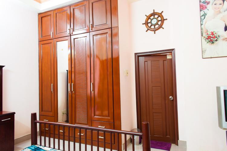 Phòng ngủ Nhà phố Nguyễn Văn Dung 4 tầng kiên cố