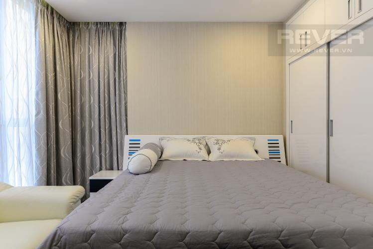 Phòng ngủ 2 Căn hộ Vinhomes Central Park tầng cao P5, view sông với 3 phòng ngủ