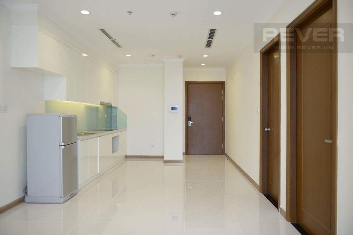 55938c0cdfa739f960b6 Bán căn hộ Vinhomes Central Park 1 phòng ngủ, tháp Landmark 3, nội thất cơ bản, view thành phố