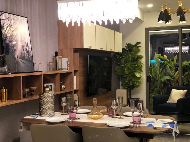 Phòng ăn căn hộ SAIGON ROYAL Cho thuê căn hộ Saigon Royal 3 phòng ngủ, tháp A, diện tích 115m2, đầy đủ nội thất