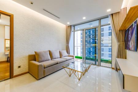 Căn hộ Vinhomes Central Park 3 phòng ngủ tầng trung P7 đầy đủ nội thất