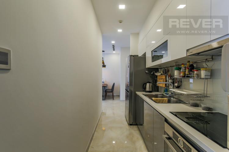 Phòng Bếp Cho thuê căn hộ Vinhomes Golden River 2PN, tầng cao, đầy đủ nội thất, view sông Sài Gòn
