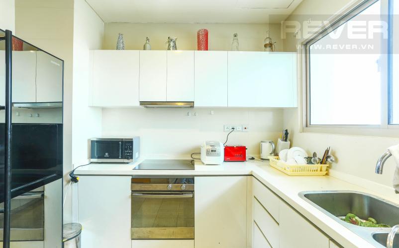 Nhà Bếp Căn hộ The Vista An Phú tầng trung, 2PN, nội thất đầy đủ, view hồ bơi