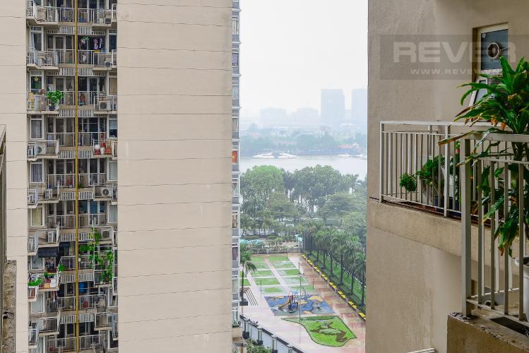 view Căn góc Saigon Pearl 3 phòng ngủ tầng thấp tòa Topaz 1