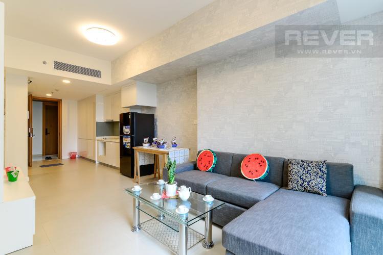 Phòng Khách Bán hoặc cho thuê căn hộ Gateway Thảo Điền 1PN, diện tích 49m2, đầy đủ nội thất, view sân chơi